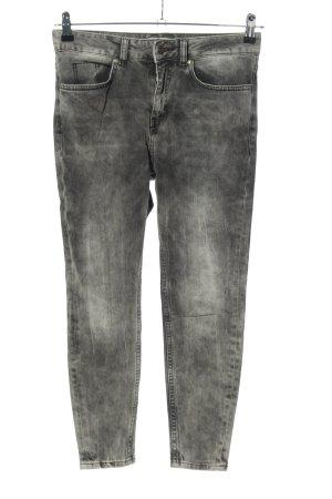 Cotton Candy Jeans a vita alta grigio chiaro stile casual
