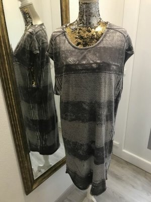Cotton Candy Shortsleeve Dress silver-colored-grey cotton