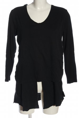 Cotton Candy Longsleeve black casual look