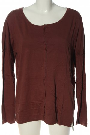 Cotton Candy Longsleeve brown casual look