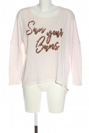 Cotton Candy Longsleeve pink casual look