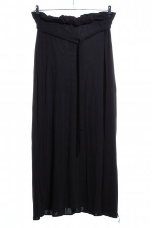 Cotton Candy Maxi Skirt black casual look