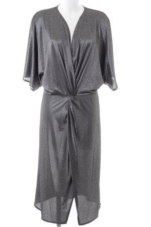 Cotton Candy Midi Dress silver-colored elegant
