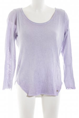 Cotton Candy Oversized Sweater lilac casual look