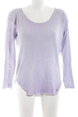 Cotton Candy Maglione oversize lilla stile casual