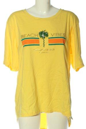 Cotton Candy Print-Shirt Motivdruck Casual-Look