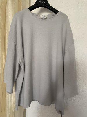 Cotton Candy Oversized Sweater light grey
