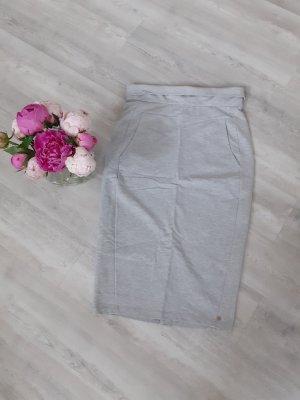 Cotton Candy High Waist Skirt light grey