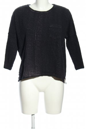 Cotton Candy Crewneck Sweater black casual look