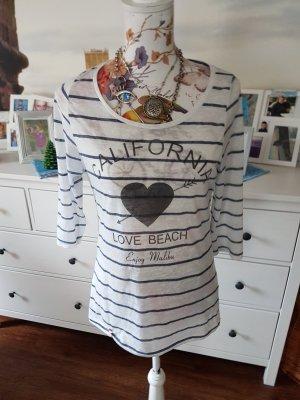 Cotton Candy Stripe Shirt white
