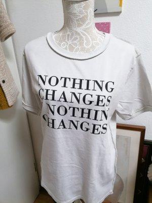Cotton Candy Print Shirt light grey