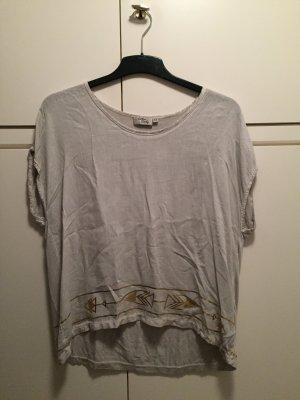 Cotton Candy Camicia oversize grigio chiaro-oro