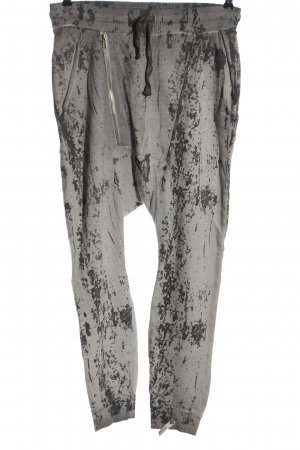 Cotton Candy Trackies light grey-black abstract pattern casual look