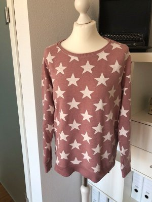 Cotton Candy Sweater Rosa Sterne M