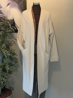 Cotton Candy Oversized Coat natural white