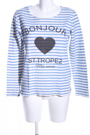 Cotton Candy Sweat Shirt themed print casual look
