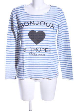 Cotton Candy Sweatshirt Motivdruck Casual-Look