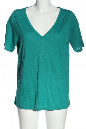 Cotton Candy T-shirt turchese stile casual