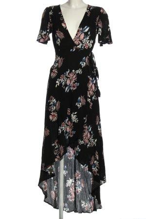 Cotton Candy Kopertowa sukienka Wzór w kwiaty W stylu casual