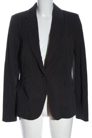 Cotton Club Klassischer Blazer black-white allover print casual look