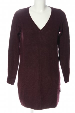 Cotton Club Sweater Dress brown casual look