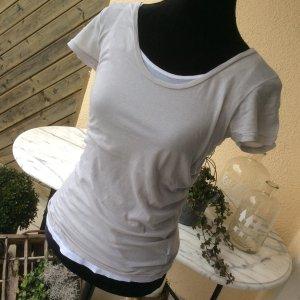 Cotton Garden T-Shirt Deluxe in Gr. S in grey