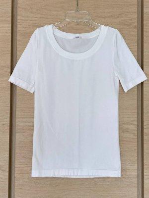 Wolford Top basic w kolorze białej wełny