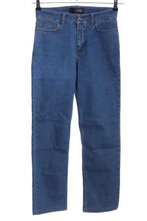 Cotton Line Straight-Leg Jeans blau Casual-Look