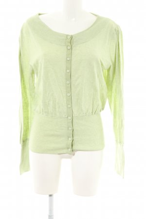 Sweatjacke grün Casual-Look