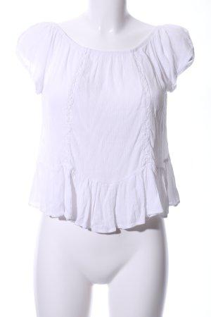 Cotton On ärmellose Bluse weiß Business-Look