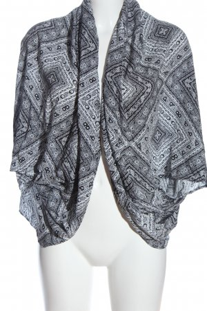 Cotton On Cardigan black-white abstract pattern casual look