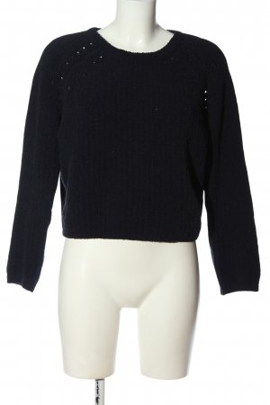 Cotton On Cropped Jumper black casual look
