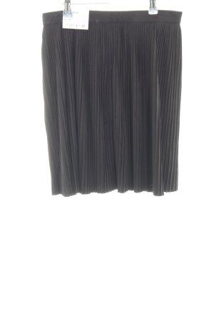 Cotton On Faltenrock schwarz schlichter Stil