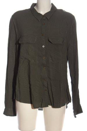 Cotton On Shirt Blouse khaki casual look