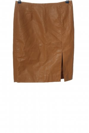 Cotton On Faux Leather Skirt brown casual look