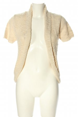 Cotton On Short Sleeve Knitted Jacket cream casual look