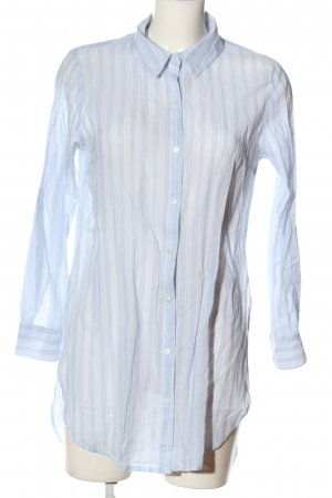 Cotton On Long Sleeve Shirt blue-white allover print business style