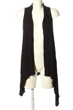 Cotton On Lang gebreid vest zwart casual uitstraling
