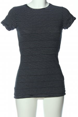 Cotton On Stripe Shirt black-white allover print casual look