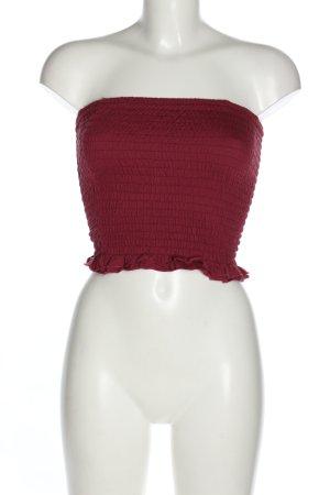Cotton On Off-The-Shoulder Top pink elegant
