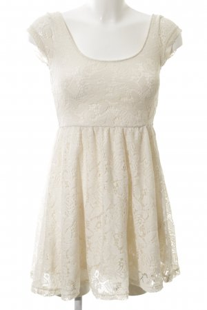 Cotton On Lace Dress natural white casual look