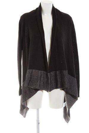 Cotton On Strick Cardigan schwarz-grau Casual-Look