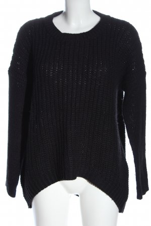 Cotton On Knitted Sweater black casual look