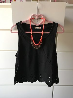 Cotton On Cropped Top black