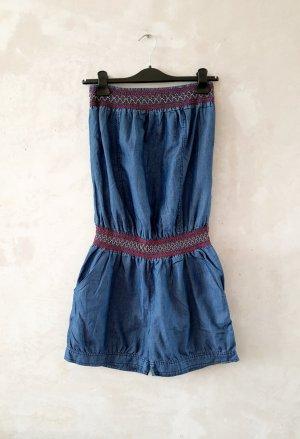 Cotton Short Jumpsuit L