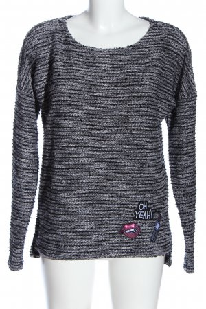 Coulors of the World Coarse Knitted Sweater flecked casual look