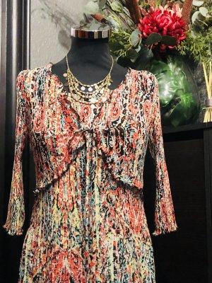Country Casual (CC) Robe chiffon multicolore