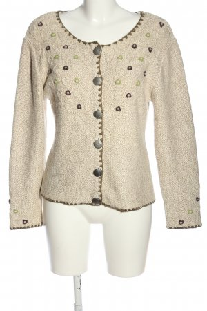 Country Lady Cardigan wollweiß meliert Casual-Look