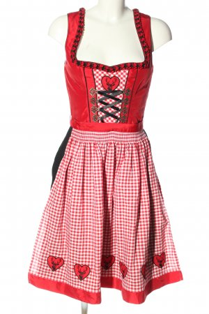 Country Lady Dirndl check pattern classic style