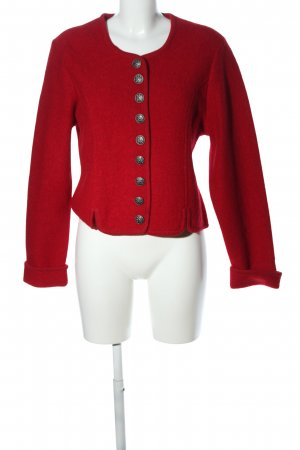 Country Lady Wolljacke rot Elegant